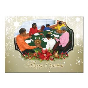 Family Christmas Afrocentric Christmas Card
