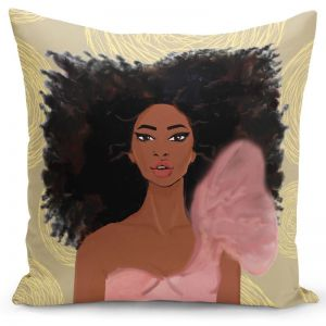 Strong Girl Pillow Cover