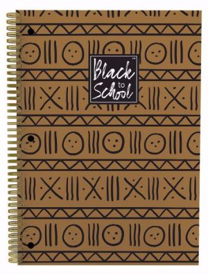 Patterns Afrocentric Spiral Notebook Set of 3