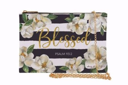 Blessed Magnolia Flowers Chain Purse