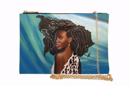 Wonderfully Made African American Chain Purse