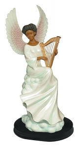 Heavenly Sound African American Figurine