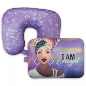 I Am Royal African American Convertible Neck Pillow