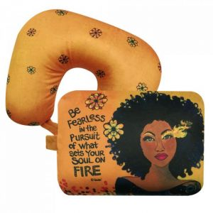 Soul On Fire African American Convertible Neck Pillow