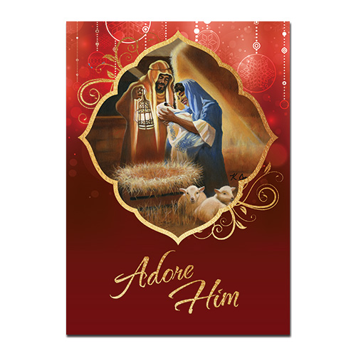 Christmas Gifts For Men South Africa: Niyae.com: Adore Him African American Christmas Card