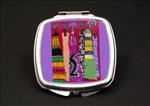 Aisha African American Duel Mirror Compact