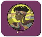 A K Profile Mousepad African American