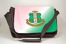 Alpha Kappa Alpha Sorority Laptop Shoulder Bag