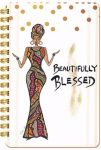 Beautifully Blessed African American Spiral Journal