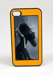 Brother Eric African American Cell Phone Case