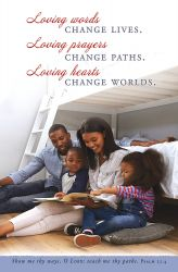 Father We Hunger Loving Words Prayer and Heart African American Church Bulletin