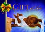 Gift of Joy African American Christmas Card