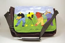 Big Boy Golf African American Art Laptop Bag