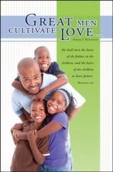 Great Men Cultivate Love African American Father's Day Bulletin