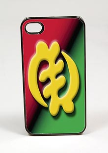 Gye Nyame African American Iphone case