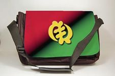 Gye Nyame Black Art Laptop Bag
