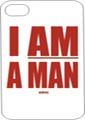 I AM A MAN African American Iphone case