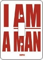 I AM A MAN African American Switch Plate Cover
