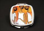 In Thought African American Duel Mirror Compact