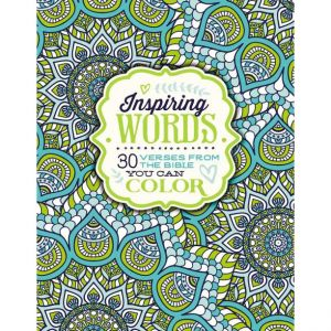Inspiring Words Adult Coloring Book