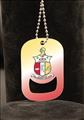 Kappa Alpha Psi African American Dog Tag Bottle Opener