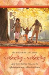 Mercy of the Lord is From Everlasting to Everlasting African American Church Bulletin