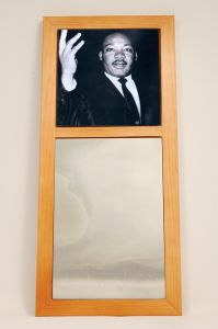 Martin Luther King Wall Mirror