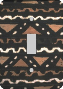 Mudcloth African American Switch Plate Cover