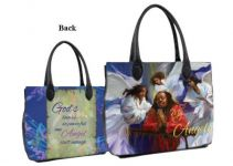 My African American Guardian Angels Bible Bag