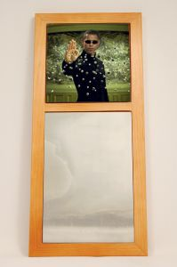 Obama Matrix African American Wall Mirror