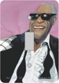 Ray Charles African American Switch Plate Cover