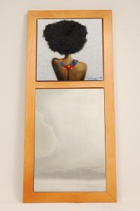Reflections Within Wall African American Mirror
