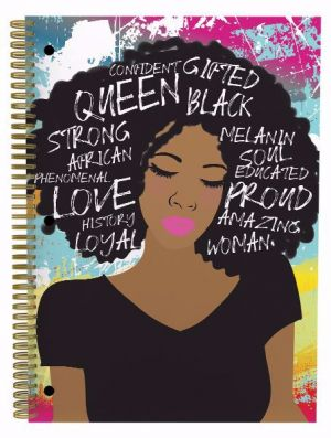 Self Love Afrocentric Spiral Notebook Set of 3