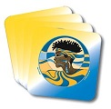 Sigma Gamma Rho Profile Drink Coasters