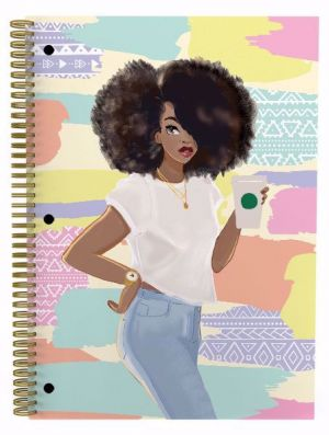 Sister Friends Afrocentric Spiral Notebook Set of 3