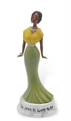 The Lord is Good to Me African American Figurine