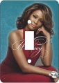 Whitney Houston African American Switch Plate Cover
