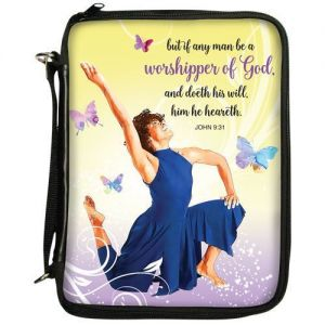 Worshipper Of God African American Bible Cover