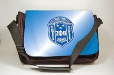 Zeta Phi Beta Sorority Laptop Shoulder Bag